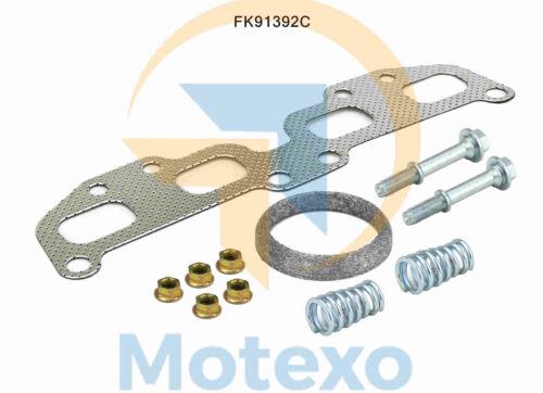 FK91392C Convertisseur Catalytique Kit De Montage Nissan X-Trail 2.5 6//2001-12//2006