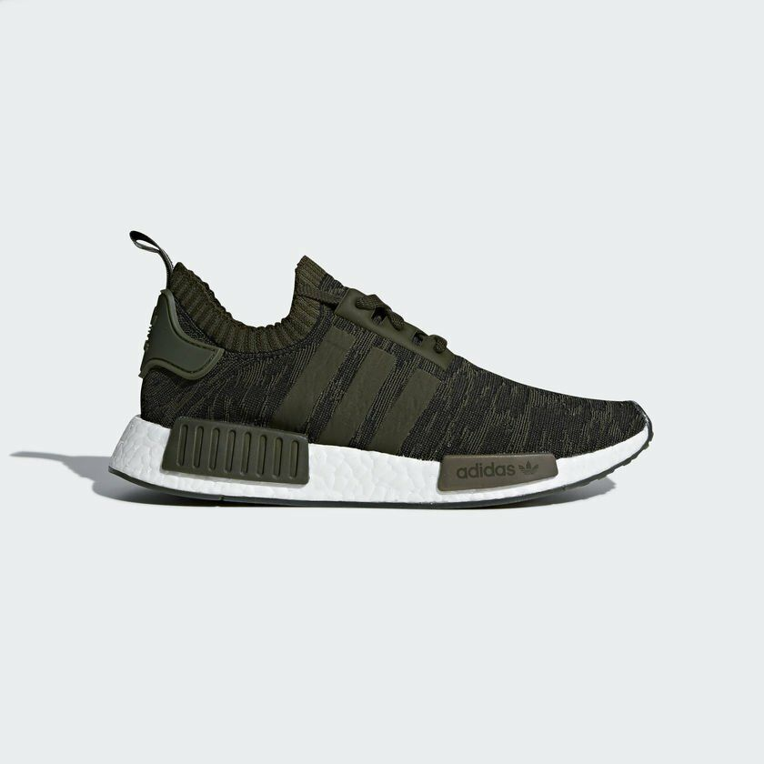Adidas Men NMD_R1 PK sport shoe olive CQ2445 UK6.5-10.5 03'