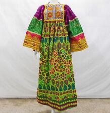 Kuchi Afghan Banjara Tribal Boho Hippy Style Pure Vintage Handmade Dress UD-039