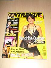 Entrevue N°125 décembre 2002 Sandrine Quétier Star Academy Popstars