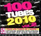 100 TUBES 2010 VOL.2 - TOUS LES TUBES DE L'ANNEE - 5 CD COMPILATION