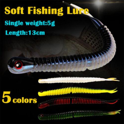 Soft Worm 13cm//5g Wobbler Spring Fishing Soft Lures Fishing Baits Fishing Lures