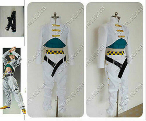 NEW JoJo/'s Bizarre Adventure Cosplay Costume Rohan Kishibe Cosplay Dress