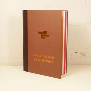 CHRIS-WILSON-THE-GLUE-PONYS-SIGNED-034-A-P-034-COPY-WITH-ORIGINAL-PAINTING-UK