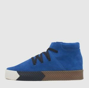 Details about NEW! adidas Originals Alexander Wang AW AC6849 Skate Mid Blue Bluebird Black