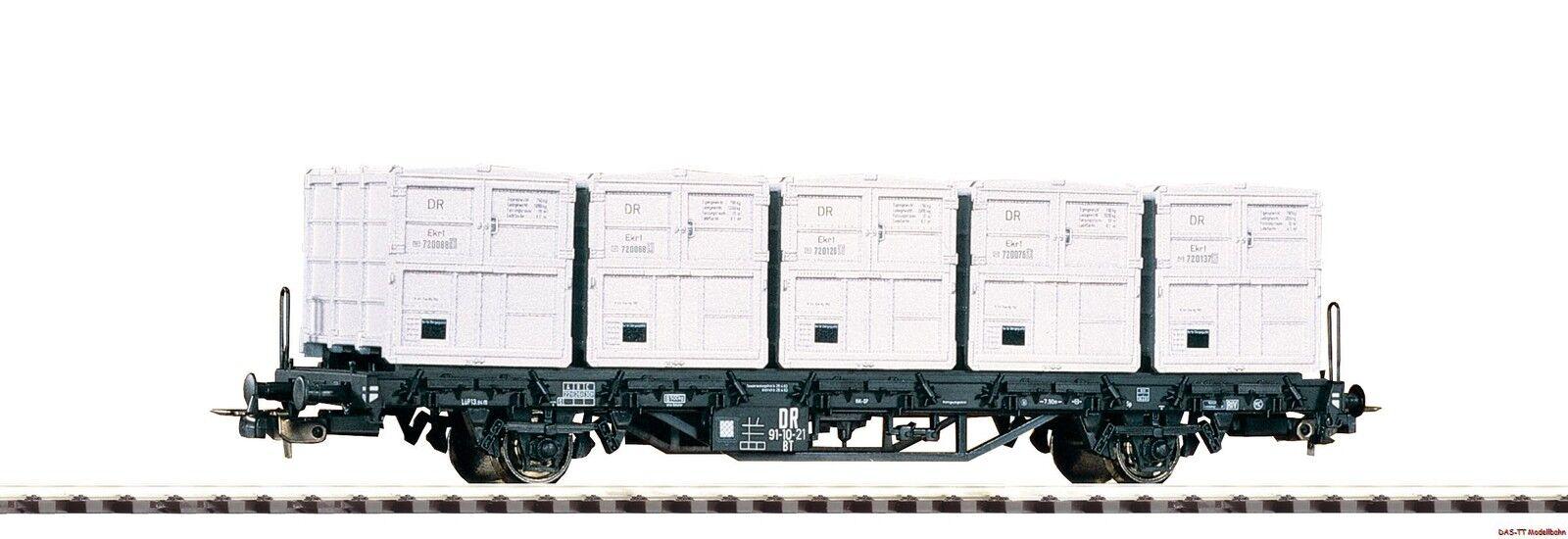 H0 Manténgase el recipiente armazón Cochero con 5 contenedores bt91 Dr EP. III Piko 54427