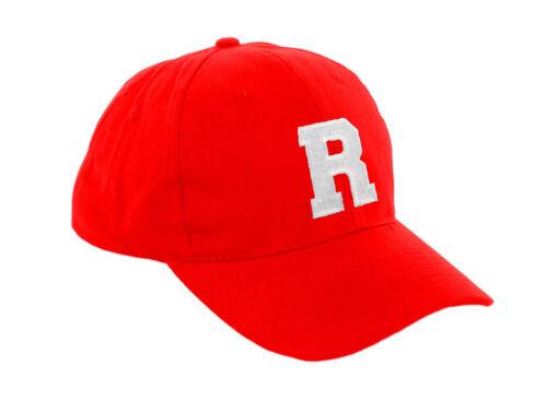 Kinder Schule Rot Baseball Kappe Jungen Mädchen Snapback Hut Buchstaben A-Z La