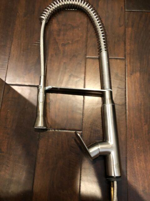 Grohe 32951dc0 K7 Semi Pro Pull Down Spray Kitchen Faucet Super Steel Ebay