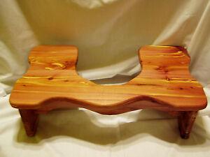 Handmade Cedar Squatty Stool For Potty Help 7 Quot Tall