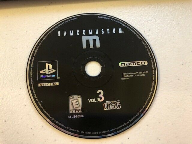 Namco Museum Vol. 3 < Sony PlayStation 1, 1996 PS1 > DISC ONLY