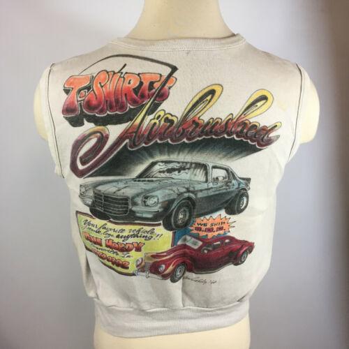 Vintage 70s 80s Graffiti Airbrush Car Camaro Chevy