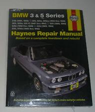 Reparaturanleitung BMW E30 318 325 i is iC e / E28 + E34 525 528 535 bis Bj. 92