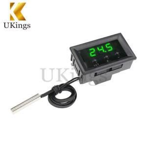 50-110-C-W1209-Temperature-Controller-12V-Digital-Thermostat-Switch-Sensor-Case