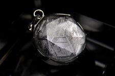 Gibeon Meteorite 925 Sterling Silver Star of David Pendant(17.0mm) GBP-002