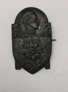 Kaiser-Karl-I-Kappen-Abzeichen-Edelweiss-4-cm