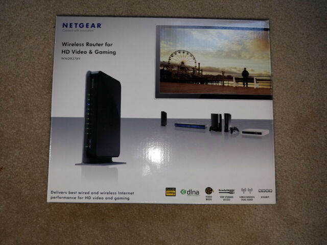 Netgear Gigabit Wireless N Router WNDR37AV-100NAS - DD-WRT