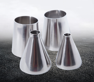 Multiple Sizes 304 Stainless Steel Sanitary Weld Concentic Reducer Pipe Fitting
