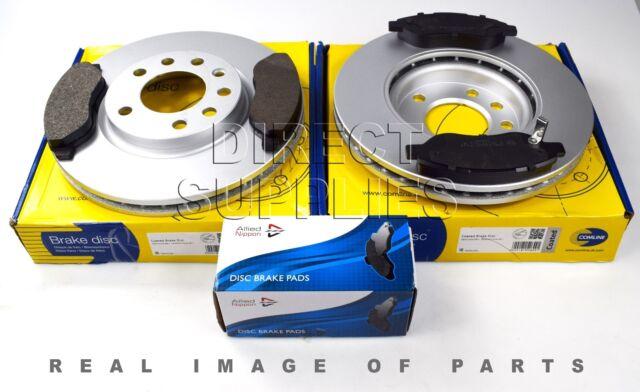Textar discos de freno 278mm pastillas de freno opel corsa d 1.7 CDTI frenos