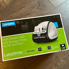 New Listingdymo Label Writer 450 Turbo Label Printer For Mac Amp Pc Black New Open Box