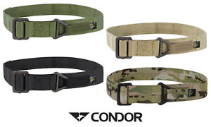 Image is loading Condor-Rigger-Belt-1-034-Nylon-Webbing-Military- 2eee0e537f