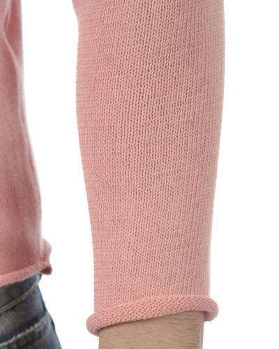 Sweater In Alessandrini Italy 58 Rosa Uomo Made Fmcl23701 Cotone Daniele Maglia 1ETwqxC