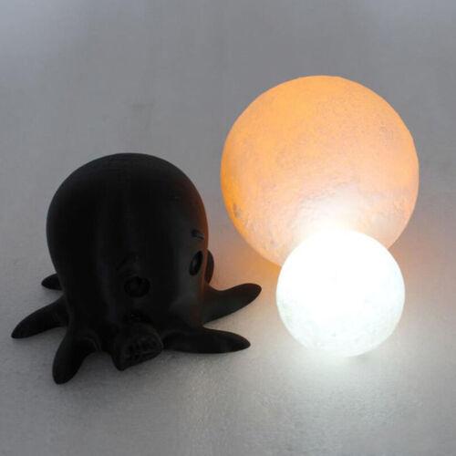 3D Magical Moon Lamp USB Dimmable LED Night Light Moonlight Touch Sensor Dec AHS