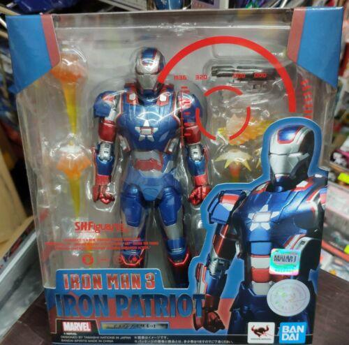 Bandai Marvel Avengers Iron Man 3 S.H.Figuarts Iron Patriot Action Figure
