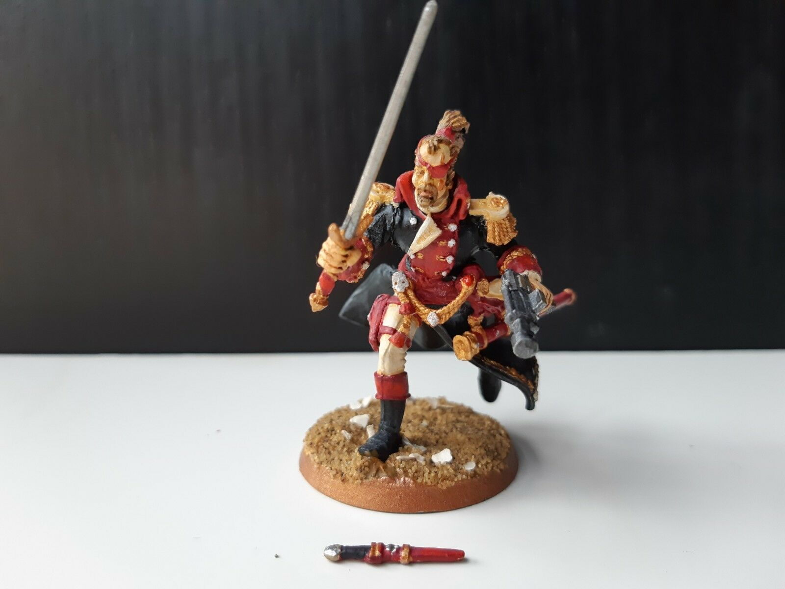 INQUISITOR VAN CASTELLAN 54mm GAMES WORKSHOP METAL