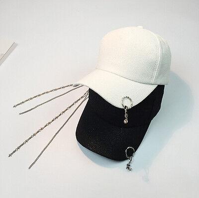 2017 Kpop New Baseball Hat Snapback Cross Pendant Design Hip Hop Men's Women Cap