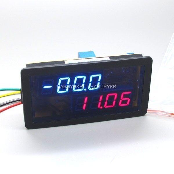 dc 200A 200V Digital LED Voltmeter Ammeter Voltage w/Shunt Battery 12v car Solar