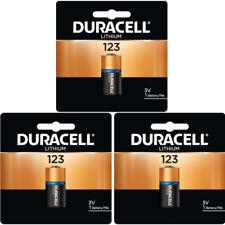 Duracell Dl123 Ultra Lithium Photo 10 Battery 887533775700 Ebay