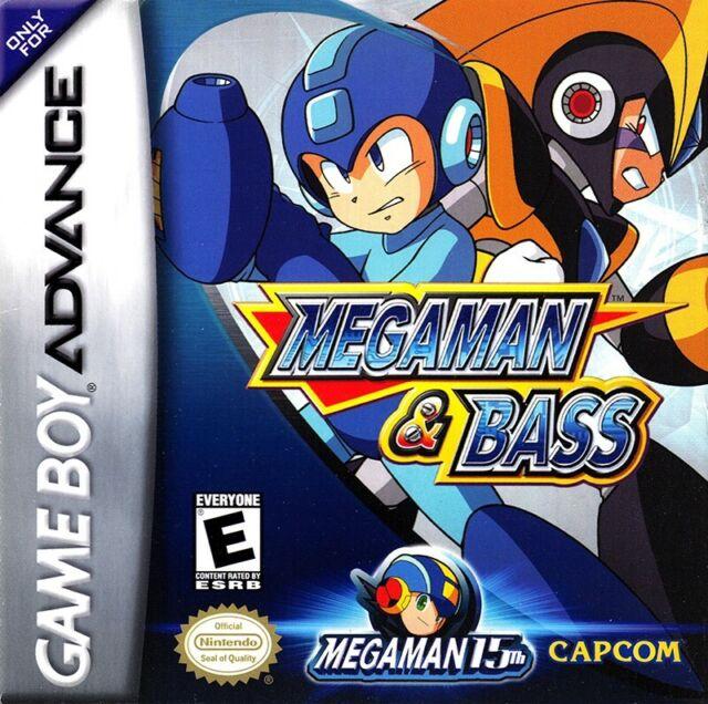 GameBoy Advance Mega Man & Bass US dans l'emballage très bonne condition utilisé