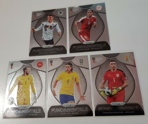 2018 Panini Prizm World Cup Soccer Fundamentals Inserts Choose Cards