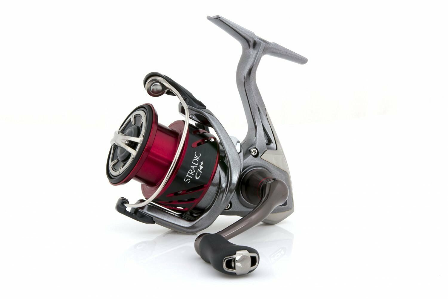 Shimano Stradic CI4+ 2500 FB HG, Spinning Rolle Frontbremse, STCI42500HGFB