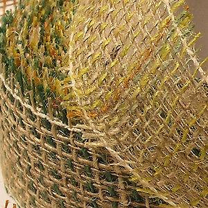 Blumenband de jutefasern 50mm//10m juteband rôle jute décoration fleurs DECO