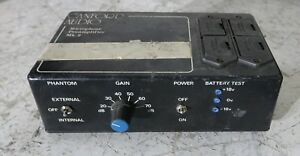 Canford Microphone Preamp ref 2 version 2