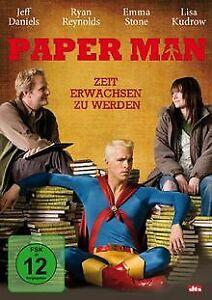 Paper-Man-Zeit-erwachsen-zu-werden-von-Kieran-Mulroney-DVD-Zustand-gut