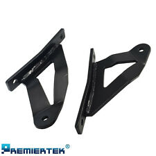 LED Light Bar Steel Windshield Roof Mounting Brackets for Nissan Titan 04-15
