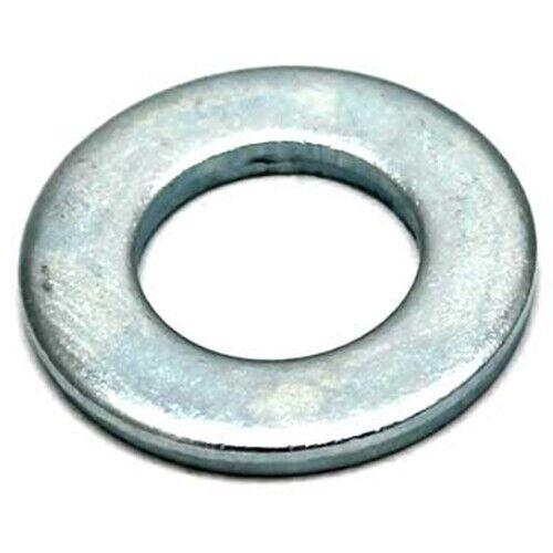 Rondelle plate Bright Zinc Plaqué BZP-M4 M5 M6 M8 M10 M12 M14 M16 M20 M24
