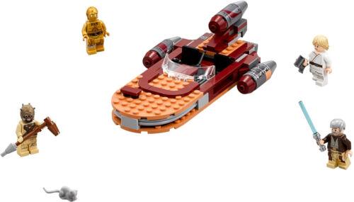 Neu OVP 75173 Luke's Landspeeder m LEGO Star Wars Luke Skywalker Ben Kenobi