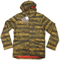 Mens Oakley Tucker Snowboard Ski Jacket Golden Poppy Large L Lg Coat 411685x