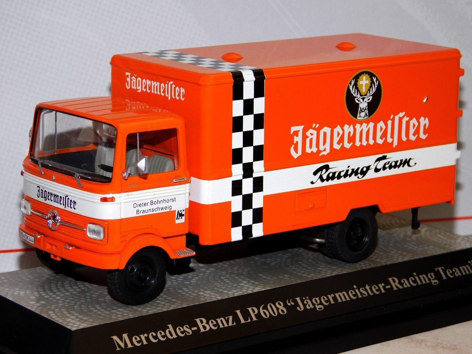MERCEDES BENZ LP608 Jagermeister assistance Racing Premium Classixxs 12501  1 43  préférentiel
