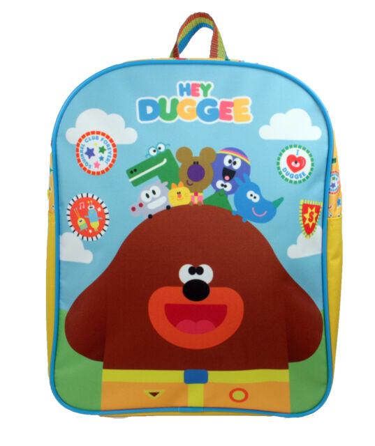 430370c67a25 Hey Duggee Squirrel Club Childrens Backpack School Bag Rucksack Kids