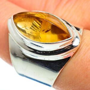 Citrine-925-Sterling-Silver-Ring-Size-8-Ana-Co-Jewelry-R46608F