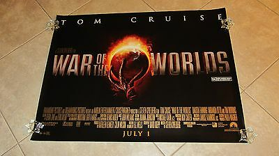 The War Of The Worlds movie poster (UK Quad)  - Tom Cruise (style B)