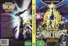 POKEMON Arceus And The Jewel Of Live DVD NEW