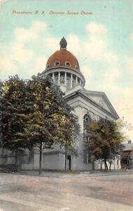 Providence Ri Rhode Island Christian Science Church C1910