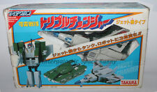 1980's Takara Diaclone Blitzwing Triple Changer Boxed & 100% Complete