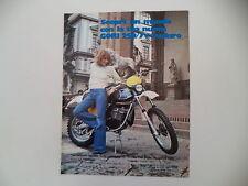 advertising Pubblicità 1977 MOTO GORI 250 7V ENDURO
