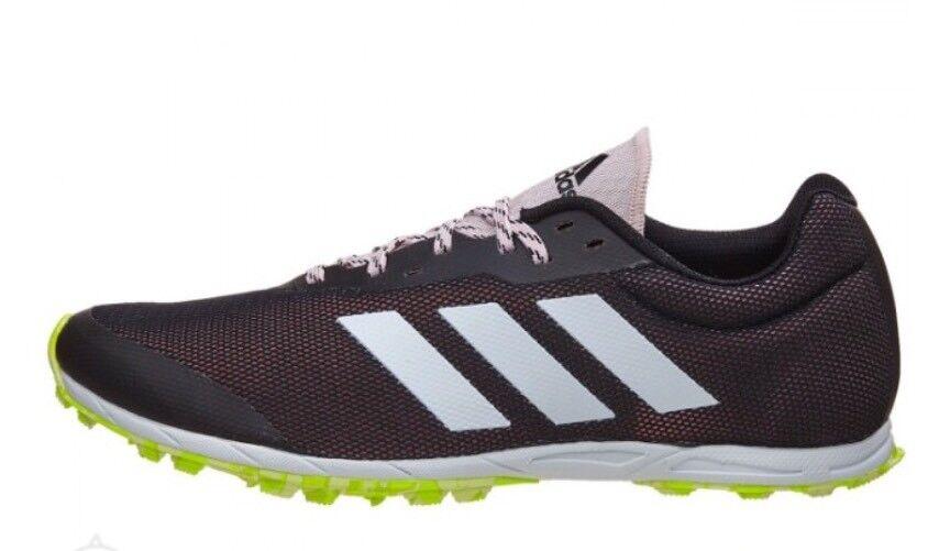 Adidas XCS Women Spikeless Cross Country Running shoes S76865 Black Pink Size 6